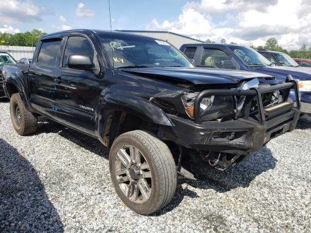 Salvage cars for sale from Copart Spartanburg, SC: 2006 Toyota Tacoma DOU