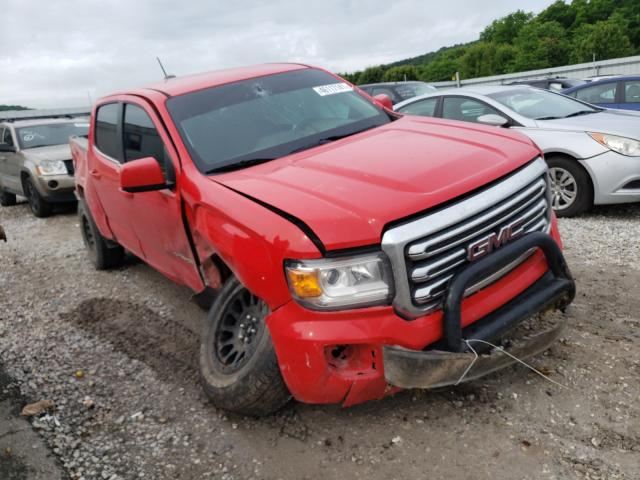 Salvage cars for sale from Copart Prairie Grove, AR: 2018 GMC Canyon SLE