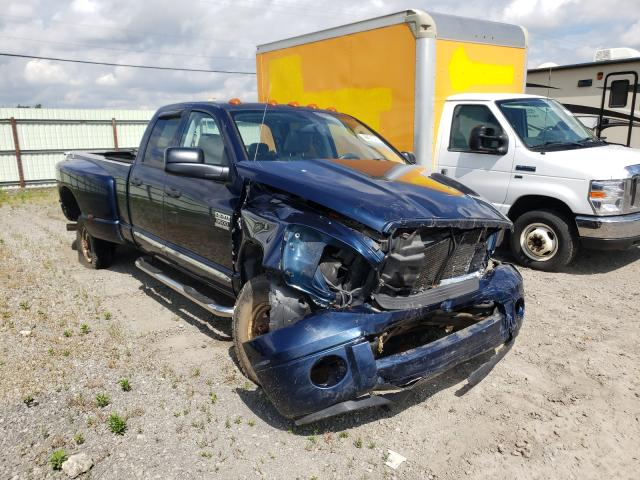 Salvage cars for sale from Copart Dyer, IN: 2007 Dodge RAM 3500 S