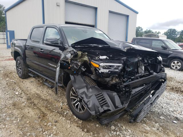 Salvage cars for sale from Copart Ellenwood, GA: 2021 Toyota Tacoma DOU