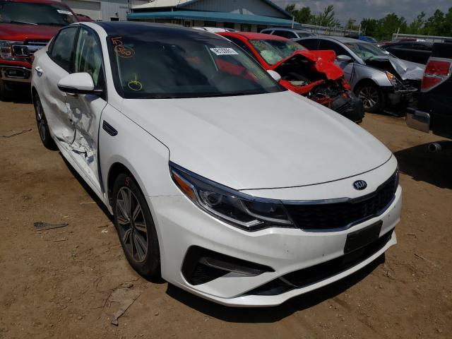 Salvage cars for sale from Copart Pekin, IL: 2020 KIA Optima EX
