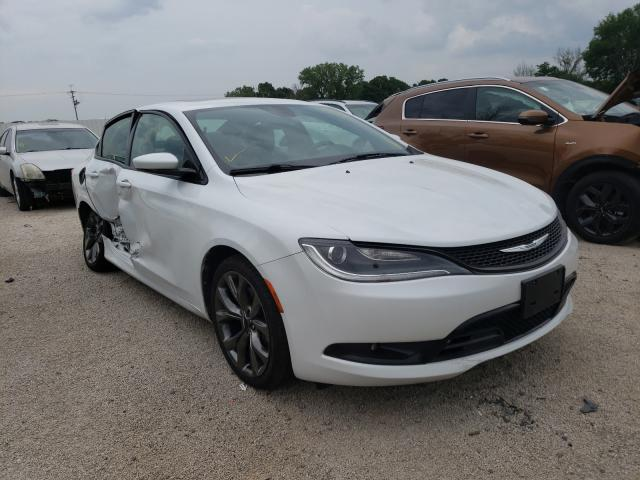 Salvage cars for sale from Copart Milwaukee, WI: 2015 Chrysler 200 S
