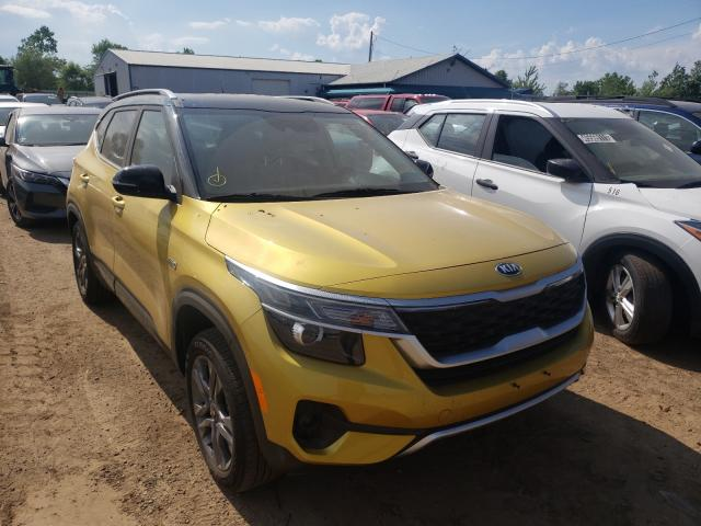 Salvage cars for sale from Copart Pekin, IL: 2021 KIA Seltos S