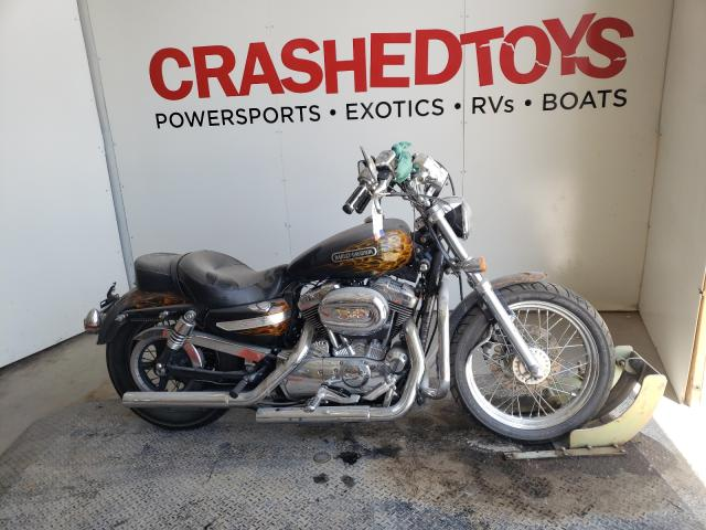 Salvage cars for sale from Copart Kansas City, KS: 2009 Harley-Davidson XL1200 L