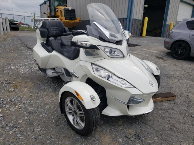Salvage cars for sale from Copart Chambersburg, PA: 2011 Can-Am Spyder ROA