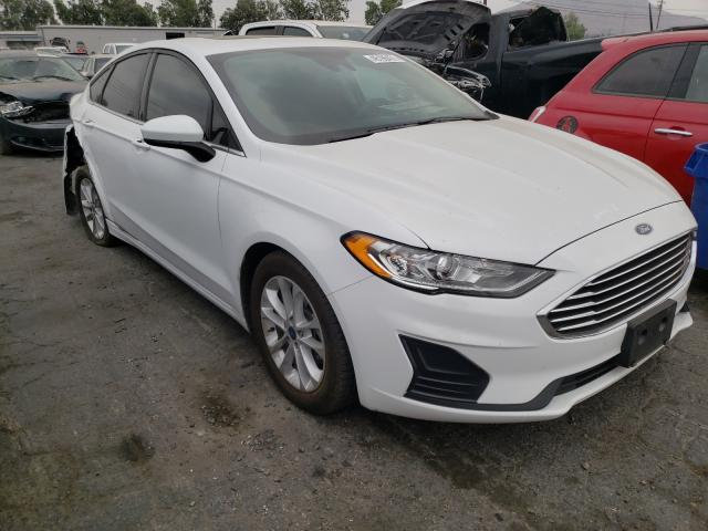 Salvage cars for sale from Copart Colton, CA: 2020 Ford Fusion SE