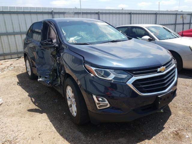 Salvage cars for sale from Copart Mercedes, TX: 2018 Chevrolet Equinox LS