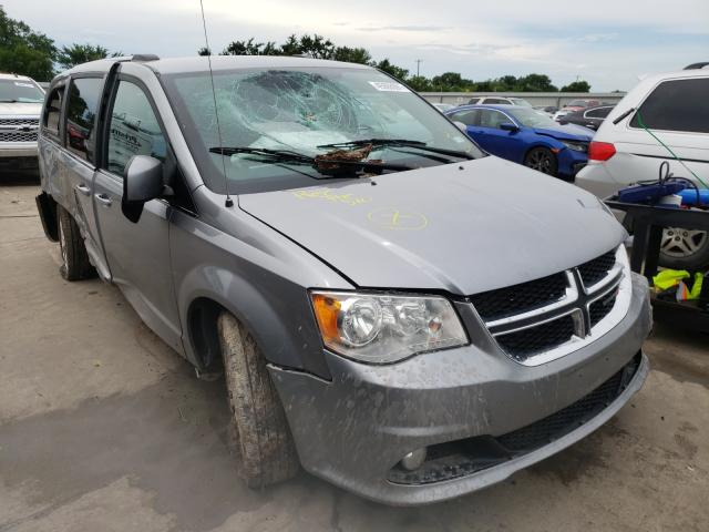 Salvage cars for sale from Copart Wilmer, TX: 2018 Dodge Grand Caravan