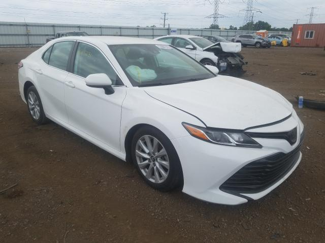 Salvage cars for sale from Copart Dyer, IN: 2020 Toyota Camry LE