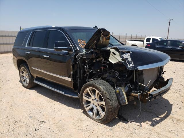 Salvage cars for sale from Copart Andrews, TX: 2017 Cadillac Escalade L