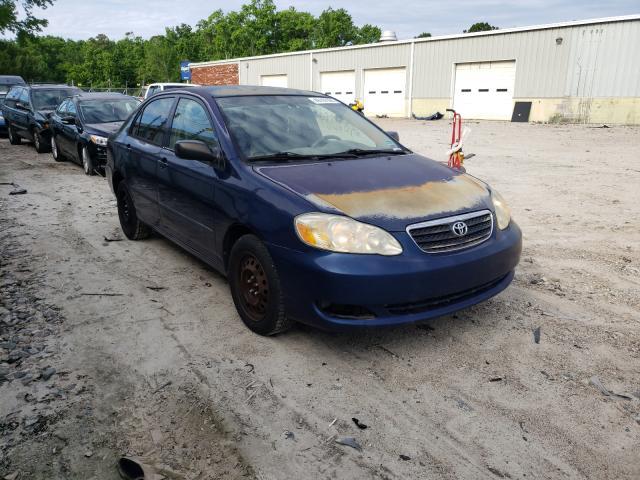 Salvage cars for sale from Copart Hampton, VA: 2005 Toyota Corolla CE