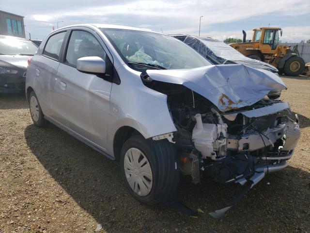 Salvage cars for sale from Copart Nisku, AB: 2017 Mitsubishi Mirage ES