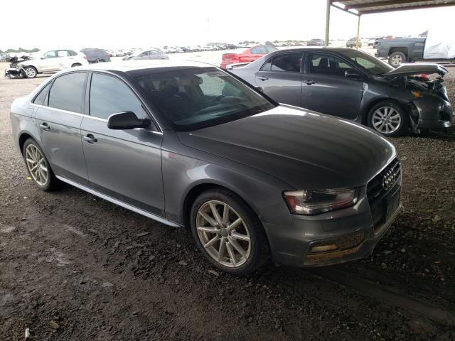 Salvage cars for sale from Copart Houston, TX: 2015 Audi A4 Premium