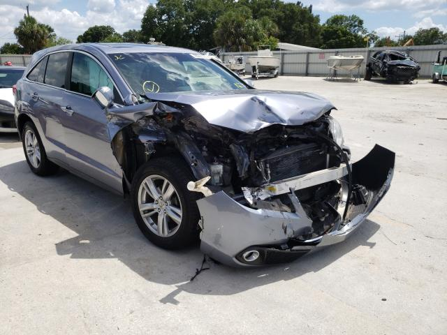 Salvage cars for sale from Copart Punta Gorda, FL: 2015 Acura RDX Techno