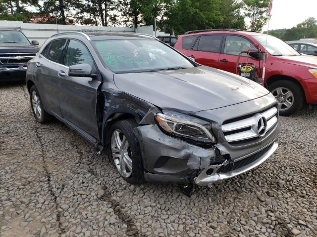 Salvage cars for sale from Copart New Britain, CT: 2017 Mercedes-Benz GLA 250 4M