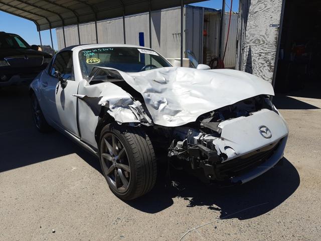 Salvage cars for sale from Copart Fresno, CA: 2018 Mazda MX-5 Miata