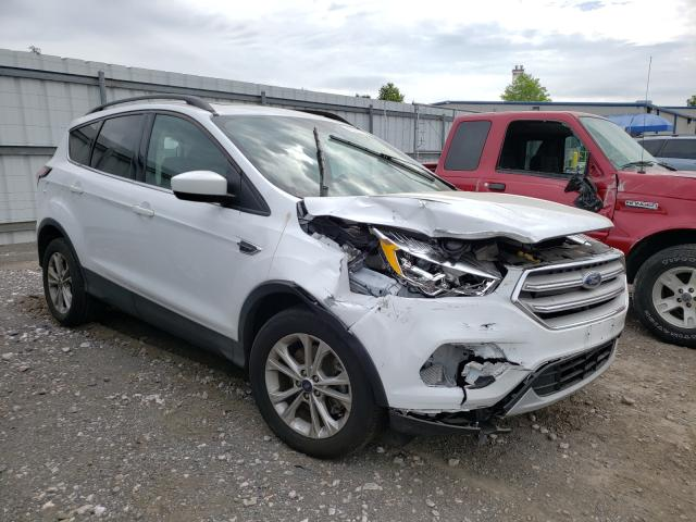 Salvage cars for sale from Copart Finksburg, MD: 2018 Ford Escape SEL