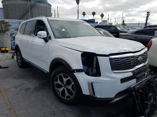 Salvage cars for sale from Copart Wilmington, CA: 2020 KIA Telluride