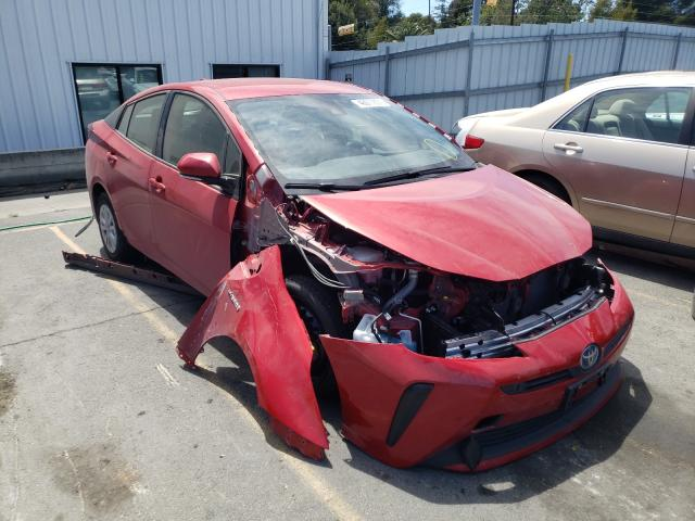 Salvage cars for sale from Copart Vallejo, CA: 2020 Toyota Prius L