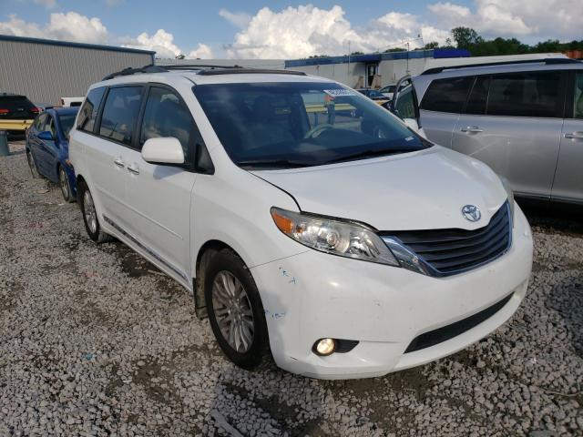 Salvage cars for sale from Copart Hueytown, AL: 2012 Toyota Sienna XLE