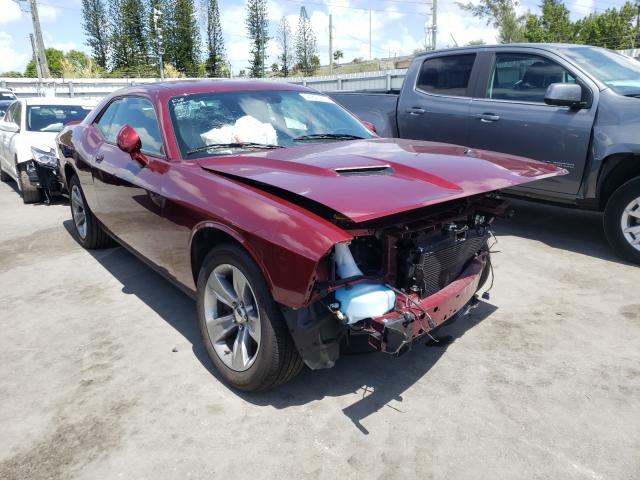 Salvage cars for sale from Copart Miami, FL: 2021 Dodge Challenger