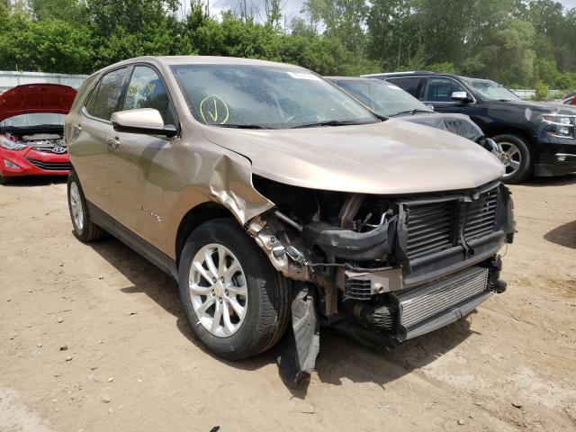 Salvage cars for sale from Copart Davison, MI: 2019 Chevrolet Equinox LT