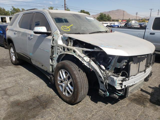 Salvage cars for sale from Copart Colton, CA: 2020 Chevrolet Traverse L
