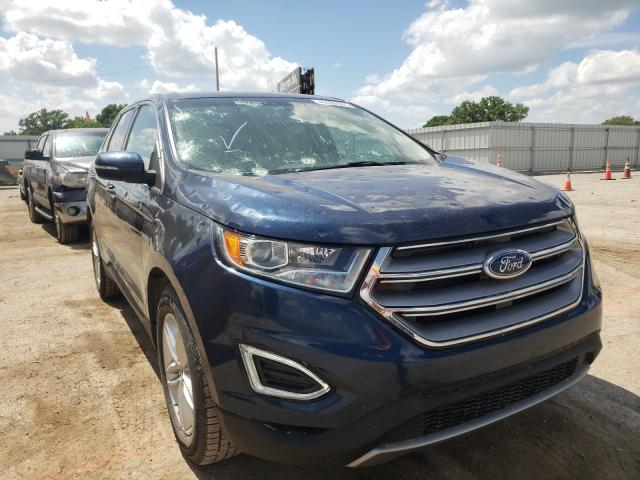 Ford Edge salvage cars for sale: 2017 Ford Edge