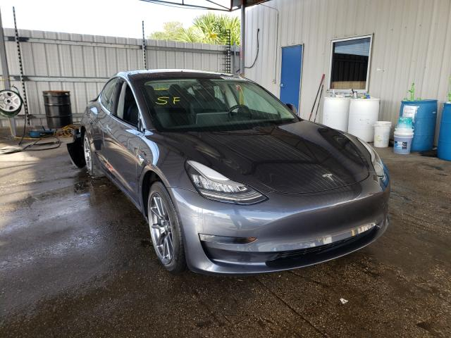 Salvage cars for sale from Copart Orlando, FL: 2018 Tesla Model 3