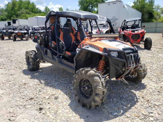 Salvage cars for sale from Copart Kansas City, KS: 2014 Polaris RZR 4 900