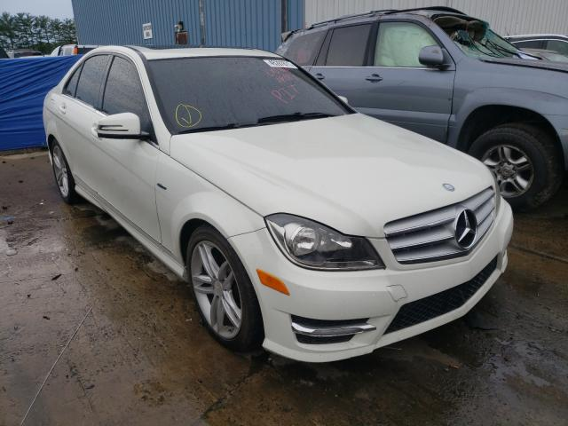 Salvage cars for sale from Copart Windsor, NJ: 2012 Mercedes-Benz C 250