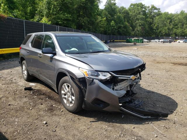 Salvage cars for sale from Copart Waldorf, MD: 2020 Chevrolet Traverse L