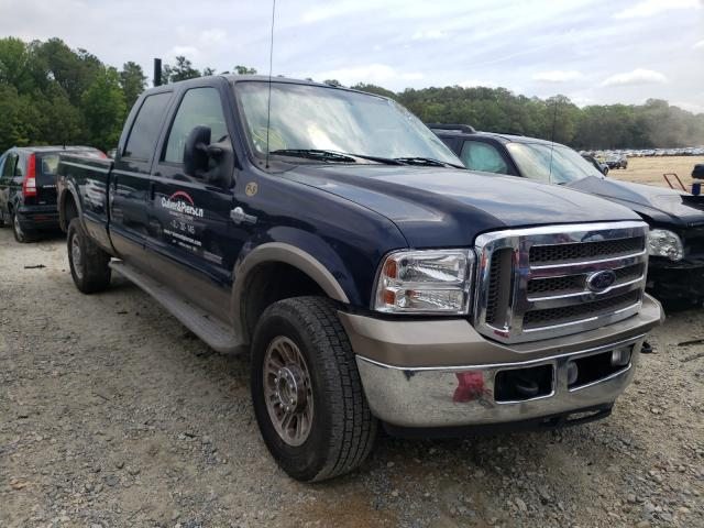 Salvage cars for sale from Copart Seaford, DE: 2007 Ford F350 SRW S