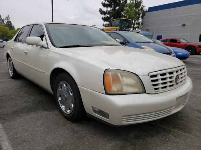 Salvage 2002 CADILLAC DEVILLE - Small image. Lot 45518061
