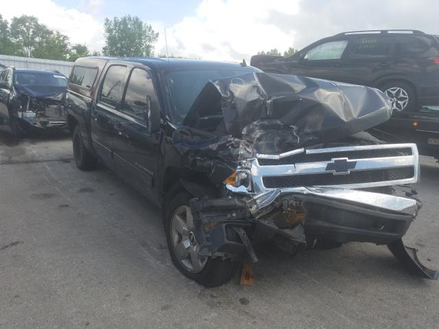 Salvage cars for sale from Copart Dyer, IN: 2013 Chevrolet Silverado