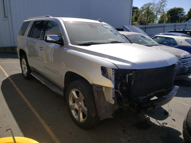 Salvage cars for sale from Copart Vallejo, CA: 2015 Chevrolet Tahoe C150