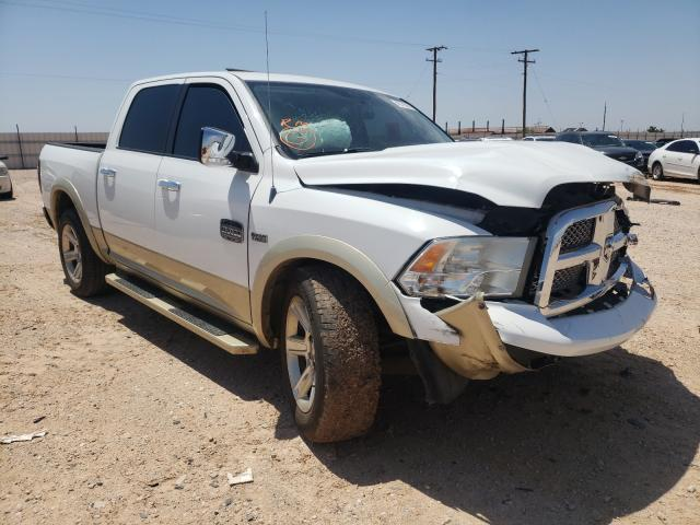 Salvage cars for sale from Copart Andrews, TX: 2012 Dodge RAM 1500 L