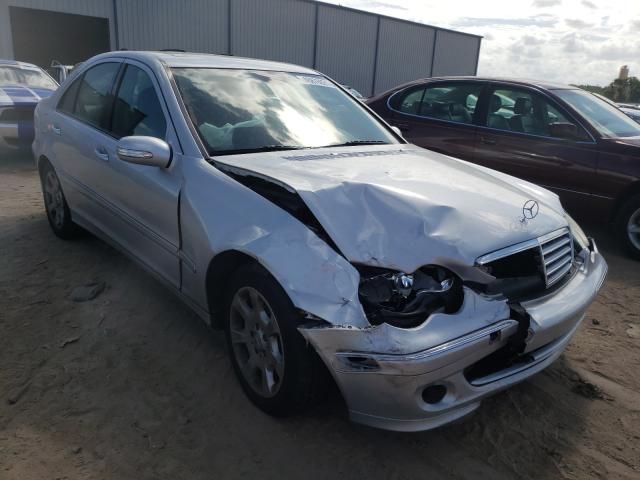 Salvage cars for sale from Copart Apopka, FL: 2006 Mercedes-Benz C 280 4matic