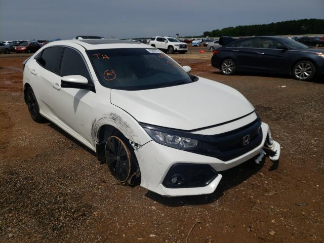 Salvage cars for sale from Copart Longview, TX: 2017 Honda Civic EXL