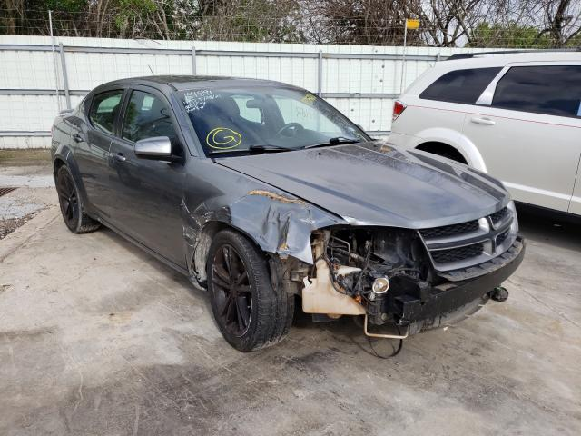 Salvage cars for sale from Copart Corpus Christi, TX: 2013 Dodge Avenger SX