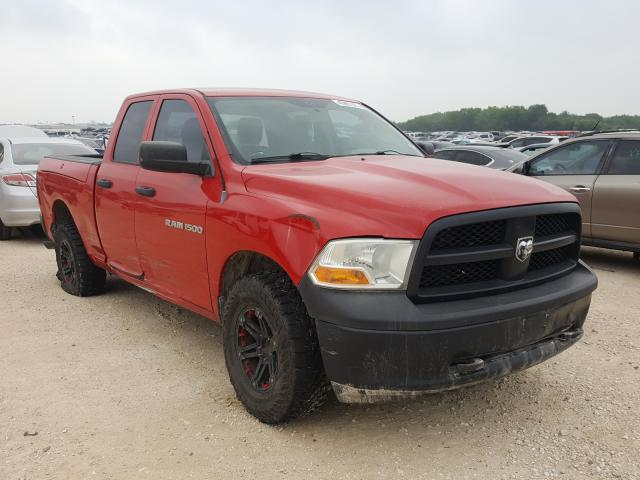 Salvage cars for sale from Copart San Antonio, TX: 2012 Dodge RAM 1500 S