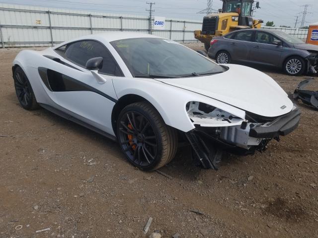 Mclaren Automotive salvage cars for sale: 2017 Mclaren Automotive 570S