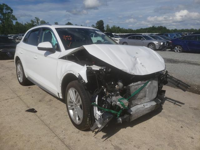 Audi salvage cars for sale: 2018 Audi Q5