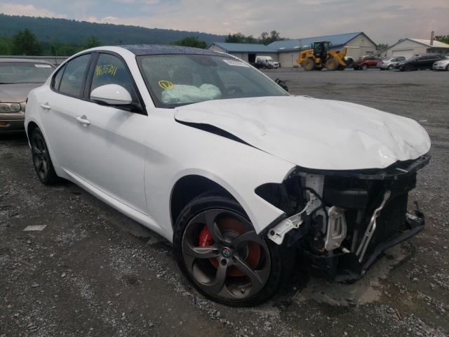 Salvage cars for sale from Copart Grantville, PA: 2018 Alfa Romeo Giulia Q4