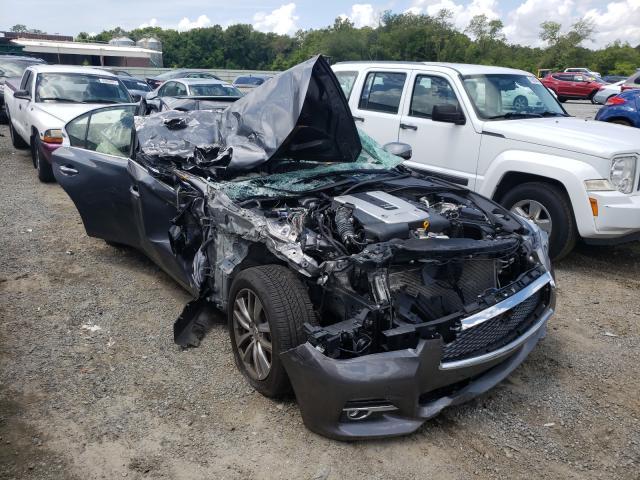Vehiculos salvage en venta de Copart Jacksonville, FL: 2014 Infiniti Q50 Base