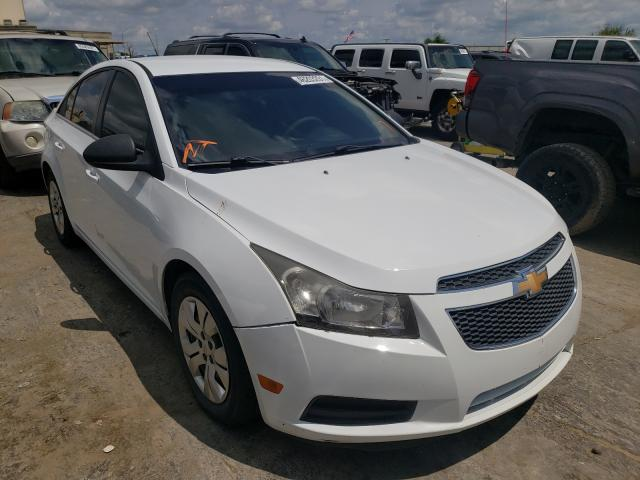 Salvage cars for sale at Tulsa, OK auction: 2011 Chevrolet Cruze LS