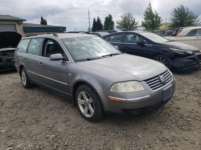 Salvage cars for sale from Copart Eugene, OR: 2004 Volkswagen Passat GLX