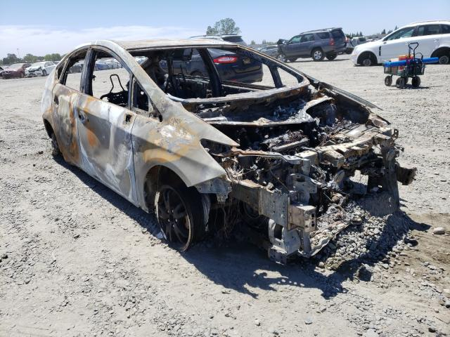 Salvage cars for sale at Sacramento, CA auction: 2010 Toyota Prius