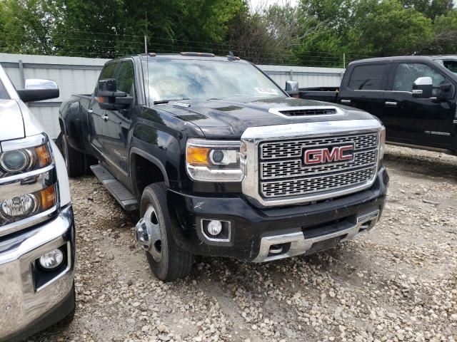 Salvage cars for sale from Copart Corpus Christi, TX: 2018 GMC Sierra K35