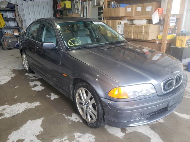 Salvage cars for sale from Copart Duryea, PA: 2001 BMW 330 I